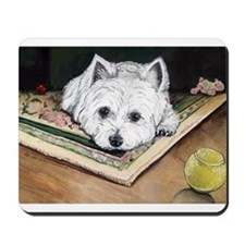 Please Play Westie Mousepad