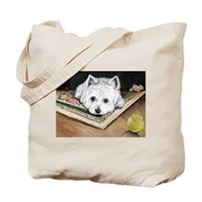 Please Play Westie Tote Bag