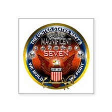 Navy Seabees Magnificent 7 Sticker
