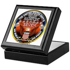 Navy Seabees Magnificent 7 Keepsake Box