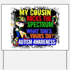 Rocks Spectrum Autism Yard Sign