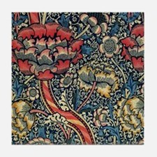 Wandle Design by William Morris Tile Coaster