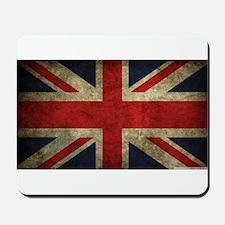 Vintage Union Jack Mousepad