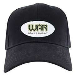 WAR, What is It Good For? Baseball Hat