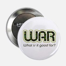 """WAR, What is It Good For? 2.25"""" Button"""