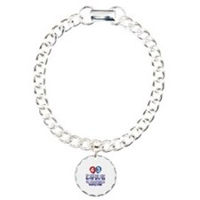 43 year old birthday designs Bracelet