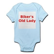 Bikers Old Lady Body Suit
