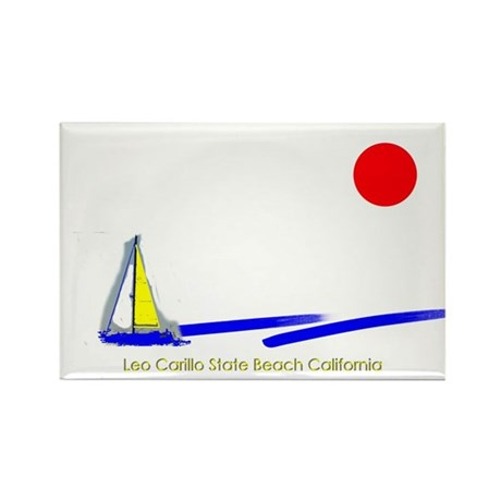 Leo Carillo Rectangle Magnet (100 pack)