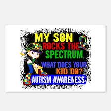 Rocks Spectrum Autism Postcards (Package of 8)