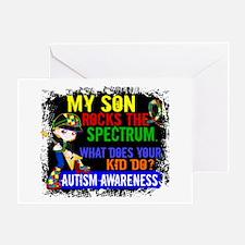 Rocks Spectrum Autism Greeting Card