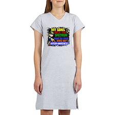 Rock Spectrum Autism Women's Nightshirt