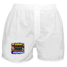 Rock Spectrum Autism Boxer Shorts