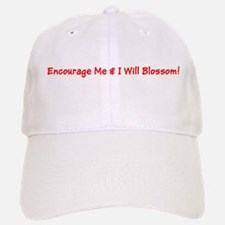 Encourage Me I Will Blossom Red Baseball Baseball Baseball Cap