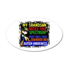 Rocks Spectrum Autism Wall Decal