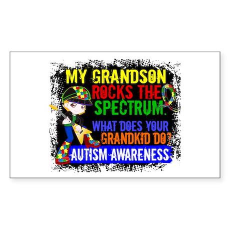 Rocks Spectrum Autism Sticker (Rectangle)