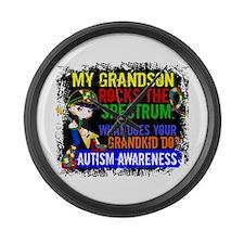 Rocks Spectrum Autism Large Wall Clock