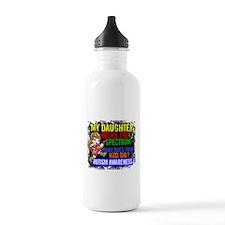 Rocks Spectrum Autism Water Bottle