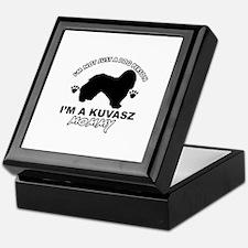 Kuvasz dog breed design Keepsake Box