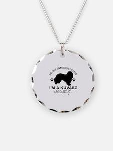 Kuvasz dog breed design Necklace