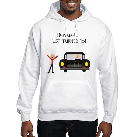 CAUTION 16 YEARS OLD Hooded Sweatshirt