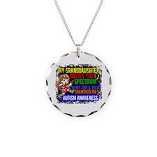 Rocks Spectrum Autism Necklace Circle Charm