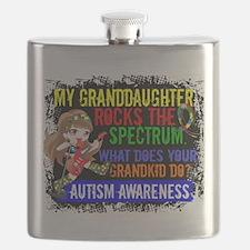Rocks Spectrum Autism Flask