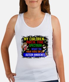 Rock Spectrum Autism Women's Tank Top
