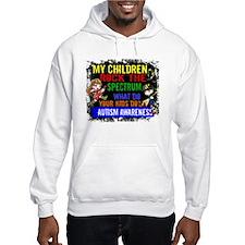 Rock Spectrum Autism Hoodie