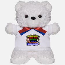 Rock Spectrum Autism Teddy Bear