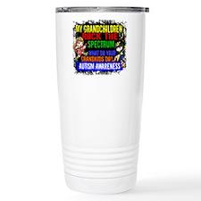 Rock Spectrum Autism Travel Mug