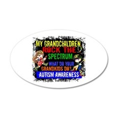 Rock Spectrum Autism Wall Decal