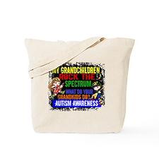 Rock Spectrum Autism Tote Bag