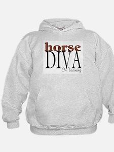 Horse Diva In Training Hoodie