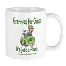 Grannies for Grass Mug