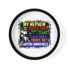 Rocks Spectrum Autism Wall Clock