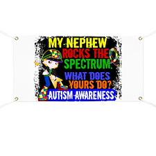 Rocks Spectrum Autism Banner