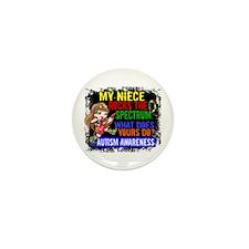 Rocks Spectrum Autism Mini Button (100 pack)