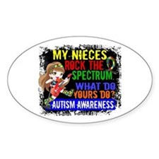 Rock Spectrum Autism Decal