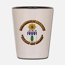 COA - 26th Infantry Regiment Shot Glass
