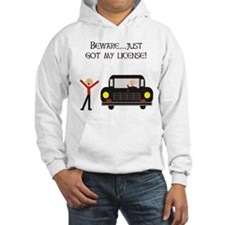 CAUTION NEW LICENSE Hoodie
