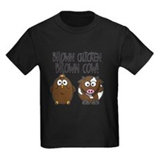 Cute Brown Chicken Brown T-Shirt