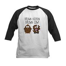 Cute Brown Chicken Brown Baseball Jersey