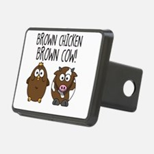 Cute Brown Chicken Brown Hitch Cover