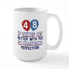 48 year old birthday designs Mug