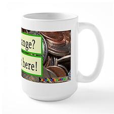 Fear Change Tip Jar Mug