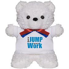 jump Teddy Bear