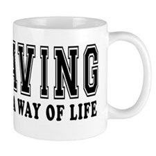 Caving It's A Way Of Life Mug