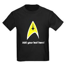 Custom Star Trek Insignia T