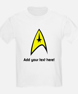 Custom Star Trek Insignia T-Shirt