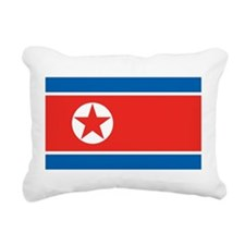 North Korea Rectangular Canvas Pillow